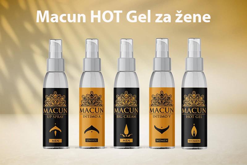 Macun HOT Gel za žene